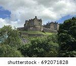 edinburgh castle in edinburgh... | Shutterstock . vector #692071828