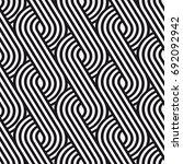 vector seamless pattern. modern ... | Shutterstock .eps vector #692092942