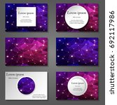 minimal vector covers set.... | Shutterstock .eps vector #692117986
