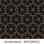 modern geometric seamless... | Shutterstock .eps vector #692139412