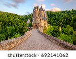 Burg Eltz Castle In Rhineland...