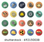industrial icon | Shutterstock .eps vector #692150038