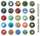 network icons | Shutterstock .eps vector #692150122