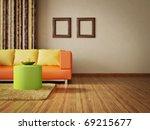 modern interior room with nice... | Shutterstock . vector #69215677