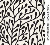 vector seamless pattern. floral ...   Shutterstock .eps vector #692157592