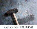Sledgehammer On A Concrete...
