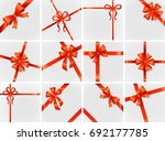 card illustration on... | Shutterstock . vector #692177785