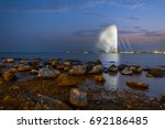 fountain a landmark of the... | Shutterstock . vector #692186485