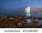 fountain a landmark of the... | Shutterstock . vector #692186485