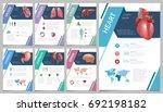 internal human organs... | Shutterstock .eps vector #692198182
