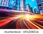 abstract speed technology... | Shutterstock . vector #692208316