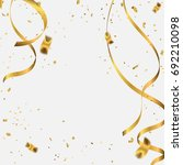 abstract background celebration ... | Shutterstock .eps vector #692210098