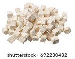 poria cocos on white background | Shutterstock . vector #692230432