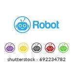 robot icon | Shutterstock .eps vector #692234782