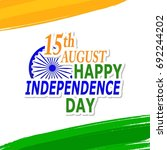 india independence day... | Shutterstock .eps vector #692244202