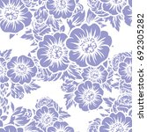 abstract elegance seamless... | Shutterstock . vector #692305282