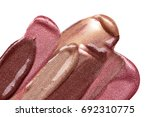 lip gloss smears  isolated on... | Shutterstock . vector #692310775