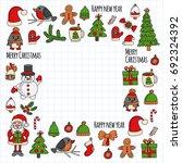 Christmas New Year Santa Claus...