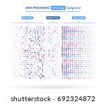 big data visualization.... | Shutterstock .eps vector #692324872