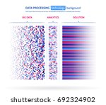 big data visualization.... | Shutterstock .eps vector #692324902