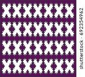 vector easy geometric floral... | Shutterstock .eps vector #692354962