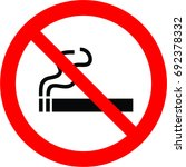 no smoking | Shutterstock .eps vector #692378332