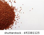 garden cress seeds | Shutterstock . vector #692381125