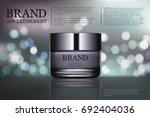 beauty anti aging cream ad.... | Shutterstock .eps vector #692404036
