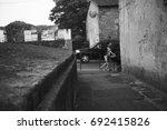 italian village | Shutterstock . vector #692415826
