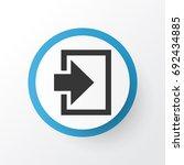 log in icon symbol. premium...
