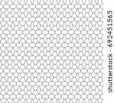 white figures tessellation on... | Shutterstock .eps vector #692451565