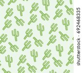 pattern cactus illustration  ... | Shutterstock .eps vector #692468335