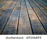 texture of perspective old wood ... | Shutterstock . vector #69246895