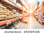 blur hardware store with... | Shutterstock . vector #692469238