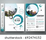 portfolio design template... | Shutterstock .eps vector #692474152
