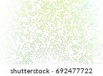 light green vector pattern with ... | Shutterstock .eps vector #692477722