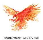 watercolor single character... | Shutterstock . vector #692477758