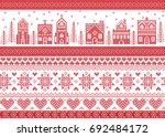 nordic style and inspired by... | Shutterstock .eps vector #692484172