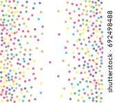 Multicolored Dot Confetti....