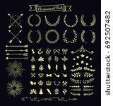 ornament pack   Shutterstock .eps vector #692507482
