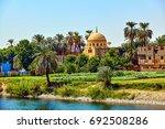 river nile in egypt | Shutterstock . vector #692508286