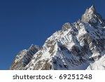 Mont Blanc In Winter   Italian...