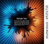 eps10 party people vector... | Shutterstock .eps vector #69251710