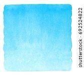 sky blue watercolor gradient...   Shutterstock . vector #692524822