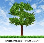 money tree investment growth... | Shutterstock . vector #69258214