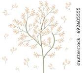 autumn lovely background  | Shutterstock .eps vector #692605555