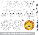 kid game to develop drawing... | Shutterstock .eps vector #692615218