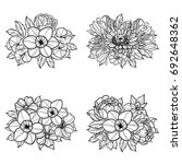 flower set | Shutterstock . vector #692648362
