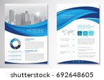 template vector design for... | Shutterstock .eps vector #692648605