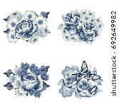 flower set | Shutterstock . vector #692649982